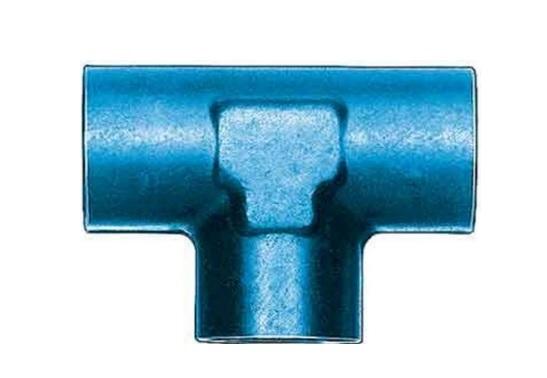 Aeroquip FCM2151 Universal Alum Female Pipe Tee 1/4