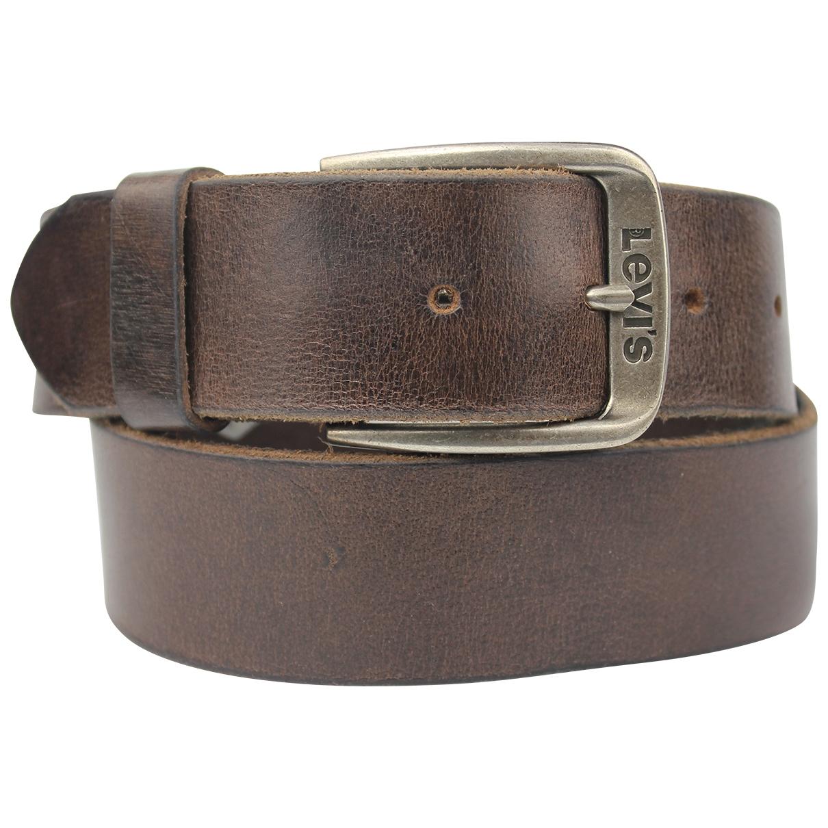 Levi's \N Brown Leather belt for Men 80 cm