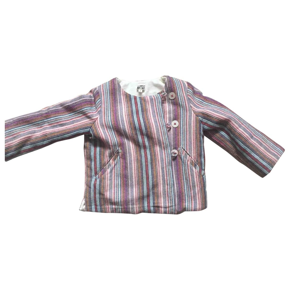 Bonton - Blousons.Manteaux   pour enfant en coton - multicolore