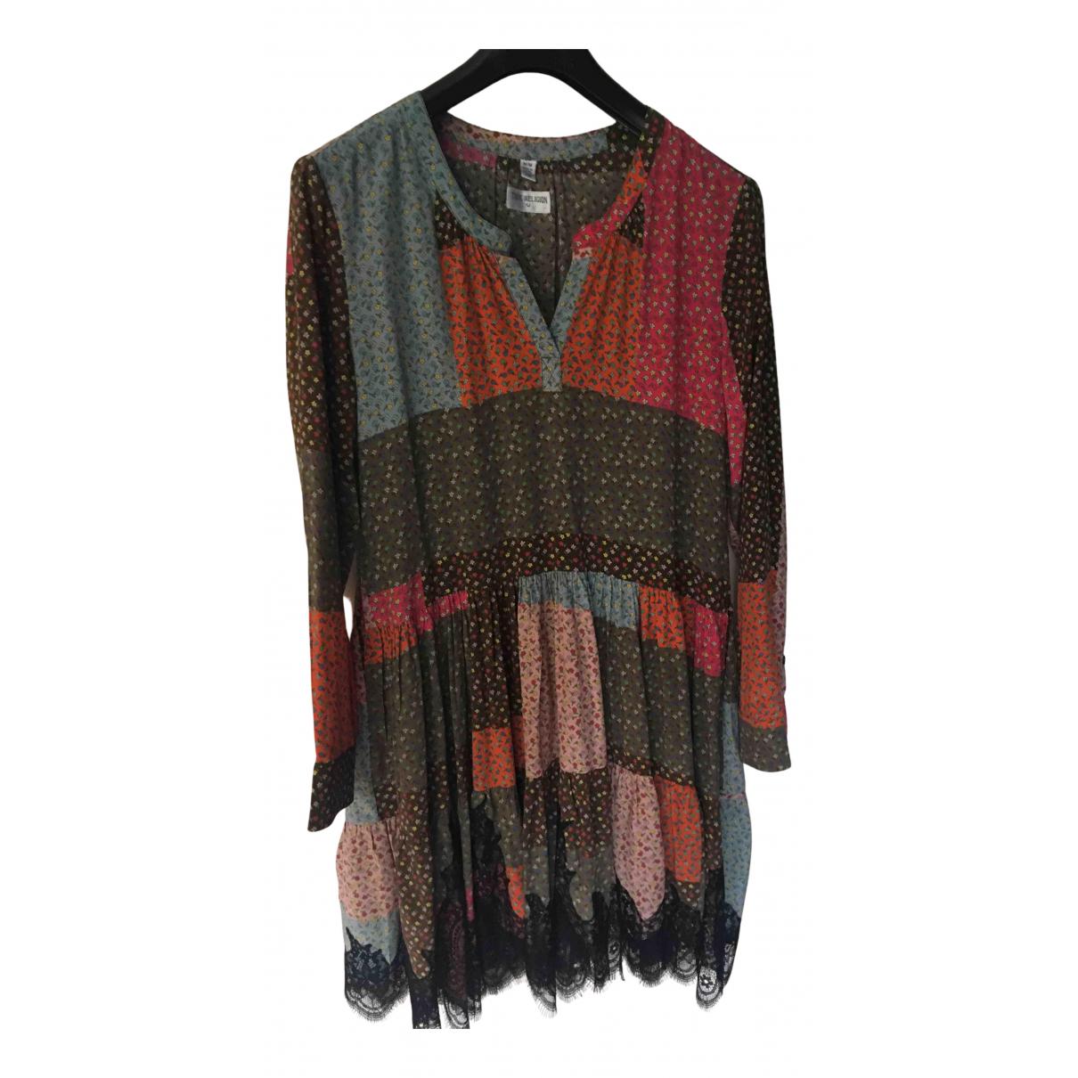 True Religion \N Kleid in  Bunt Baumwolle - Elasthan