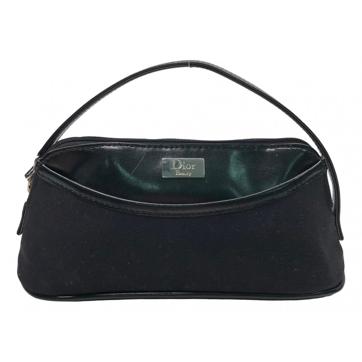 Dior \N Reisetasche in  Schwarz Leinen