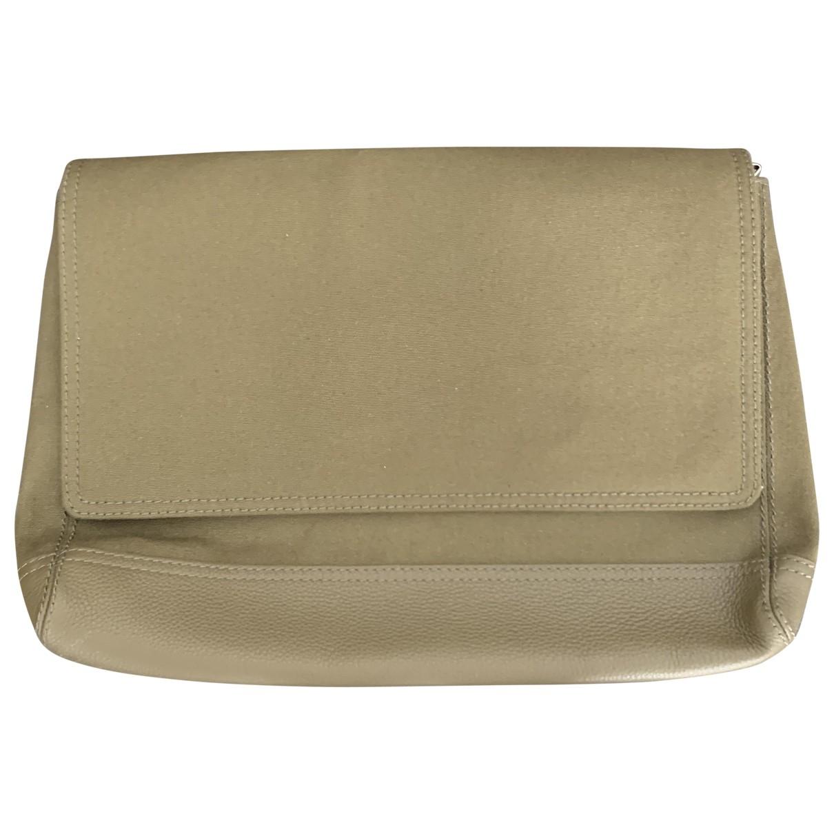 Balenciaga \N Khaki Cotton Small bag, wallet & cases for Men \N