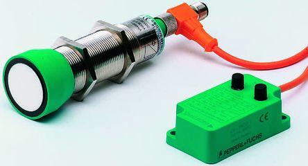 Pepperl + Fuchs Ultrasonic Sensor Barrel M30 x 1.5, 30 → 500 mm, NPN-NO/NC, M12 - 5 Pin IP65