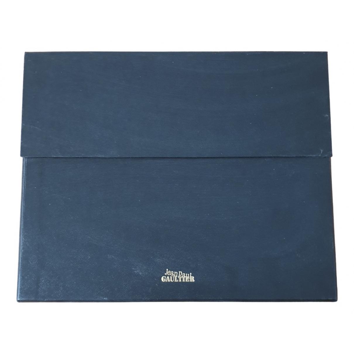 Jean Paul Gaultier \N Mode in  Blau Holz