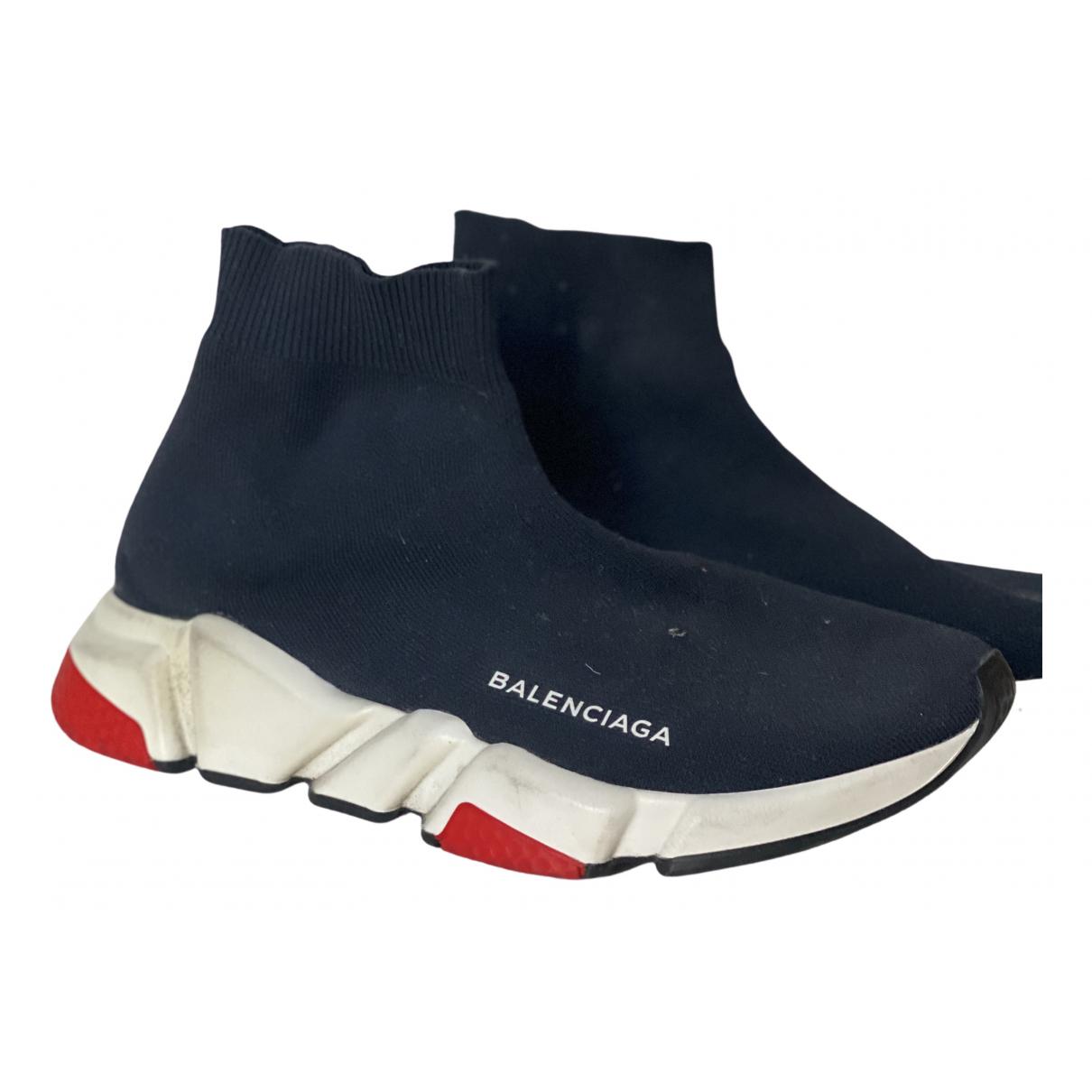 Balenciaga - Baskets Speed pour femme - bleu