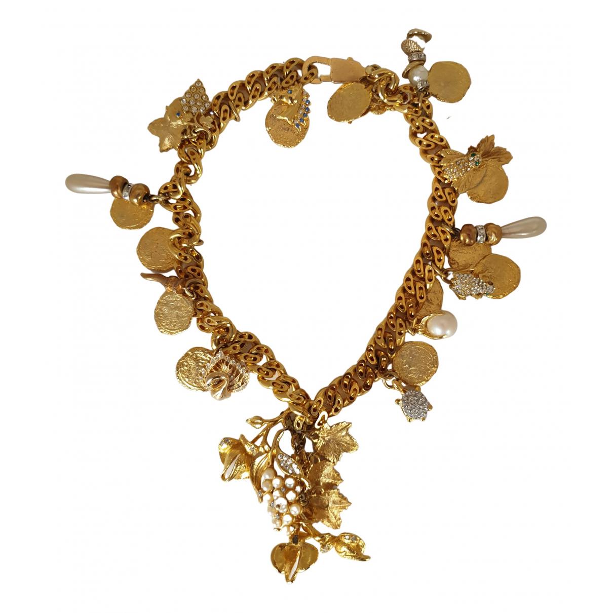 Loris Azzaro \N Kette in  Gold Metall