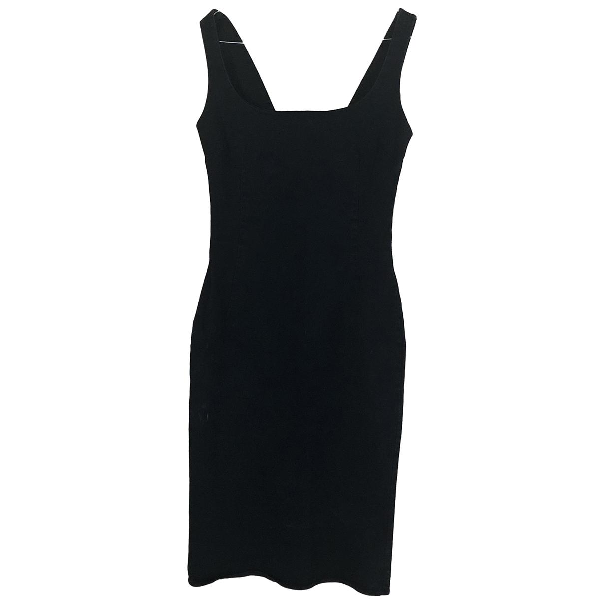 D&g \N Kleid in  Schwarz Denim - Jeans