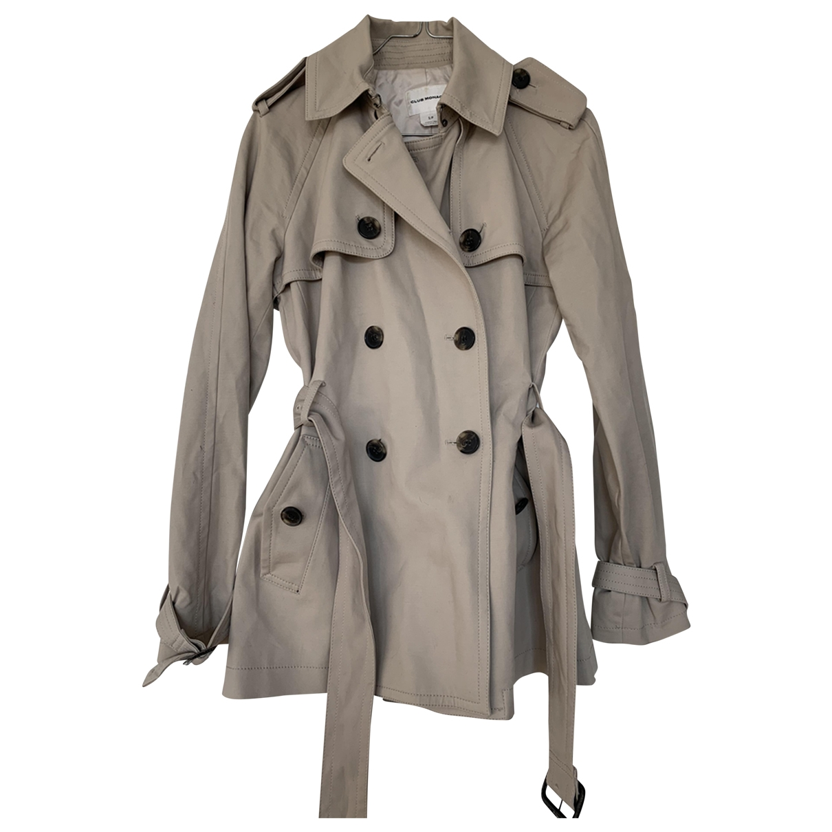 Club Monaco \N Beige Cotton jacket for Women S International