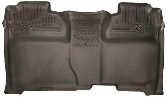 Husky Liners 53900 14-18 Silverado/Seirra 1500/2500 HD/3500 HD Crew Cab 2nd Seat Floor Liner Full Coverage Cocoa