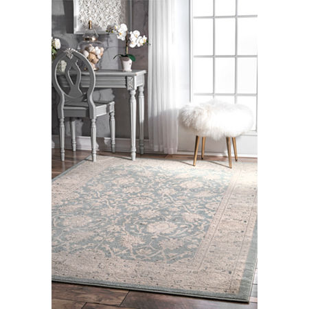 nuLoom Wharton Rug, One Size , Blue