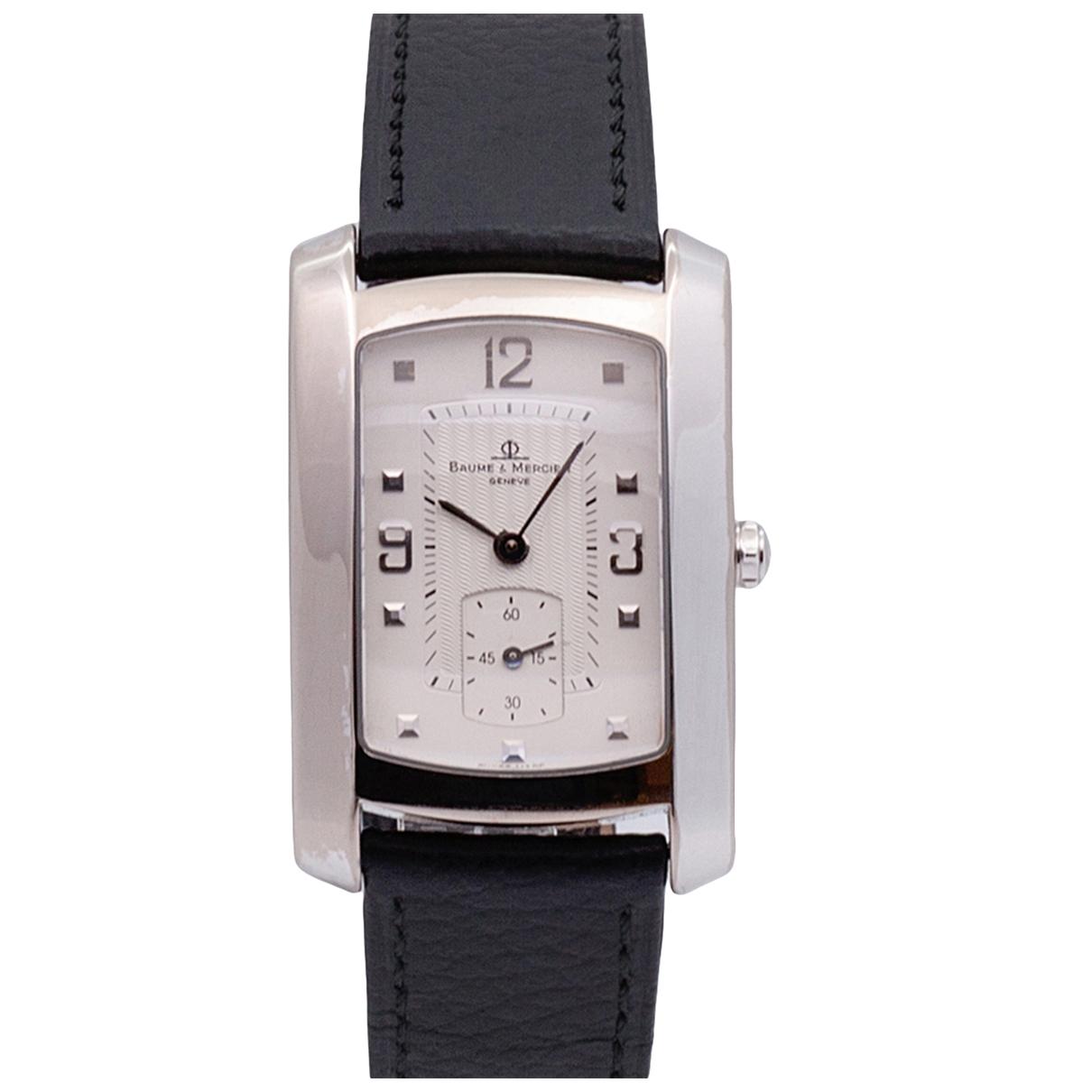Reloj Hampton Lady de Oro blanco Baume Et Mercier