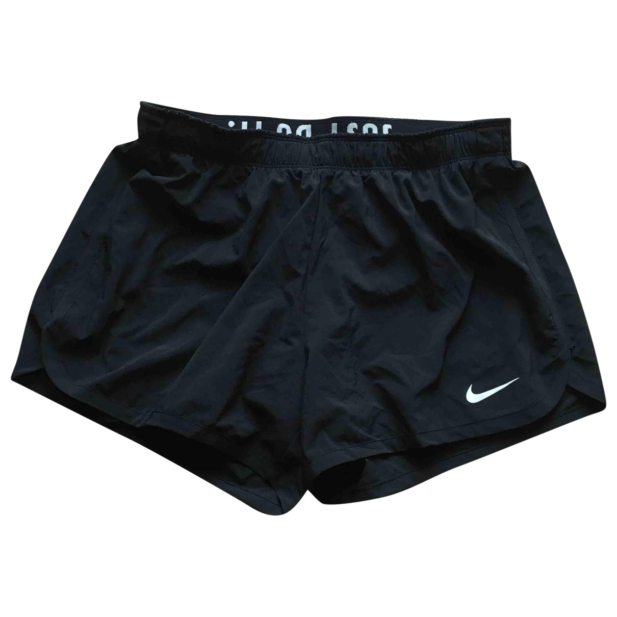 Nike \N Shorts in  Schwarz Polyester