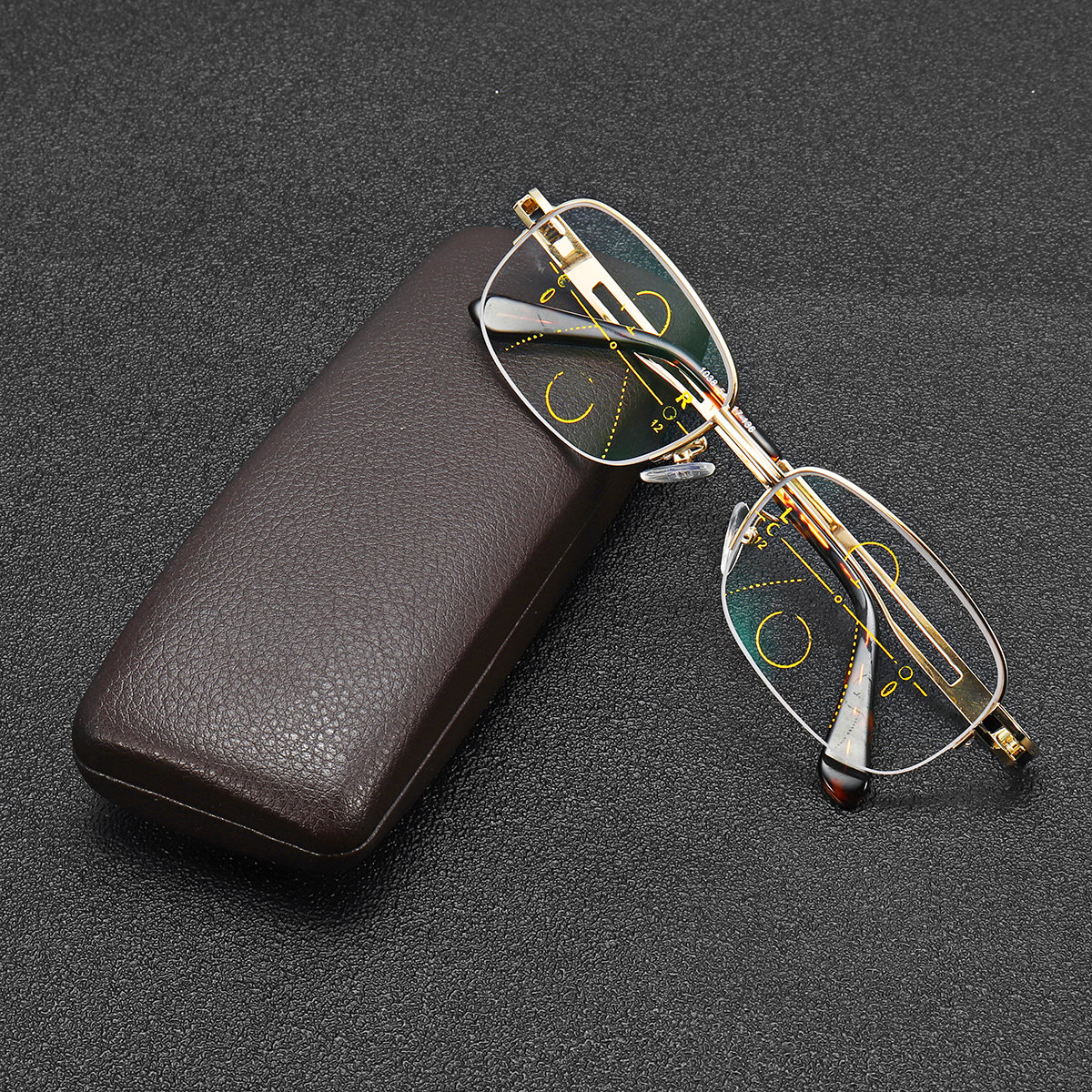 Intelligent Multi Focus Reading Glasses Progressive Multi-Focus Presbyopic Eye Glasses Eye Care