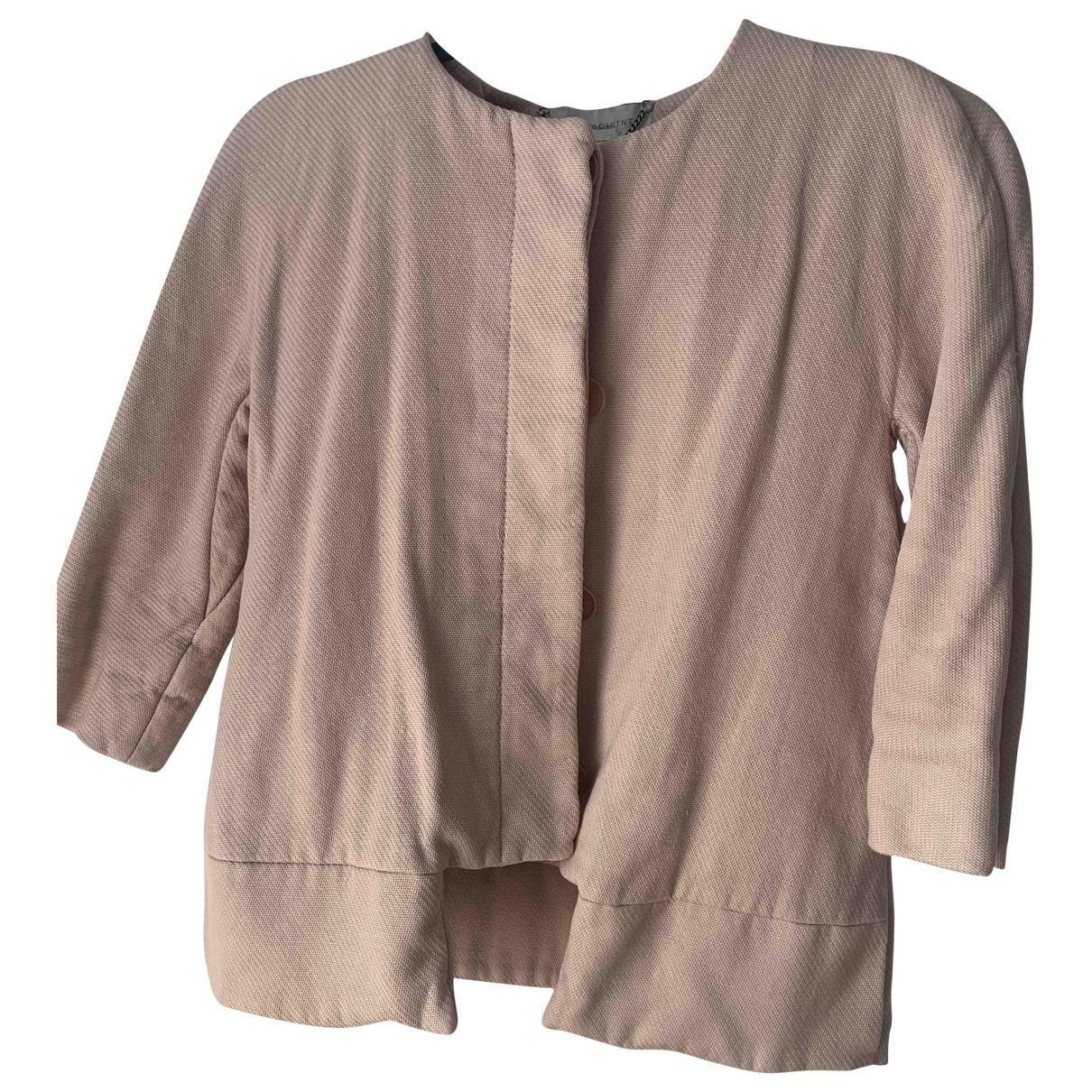 Stella Mccartney - Veste   pour femme en coton - rose