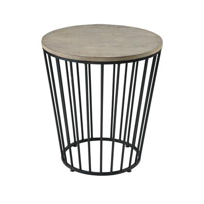 3200-167 Oil Creek Accent Table  In Salvaged Grey Oak