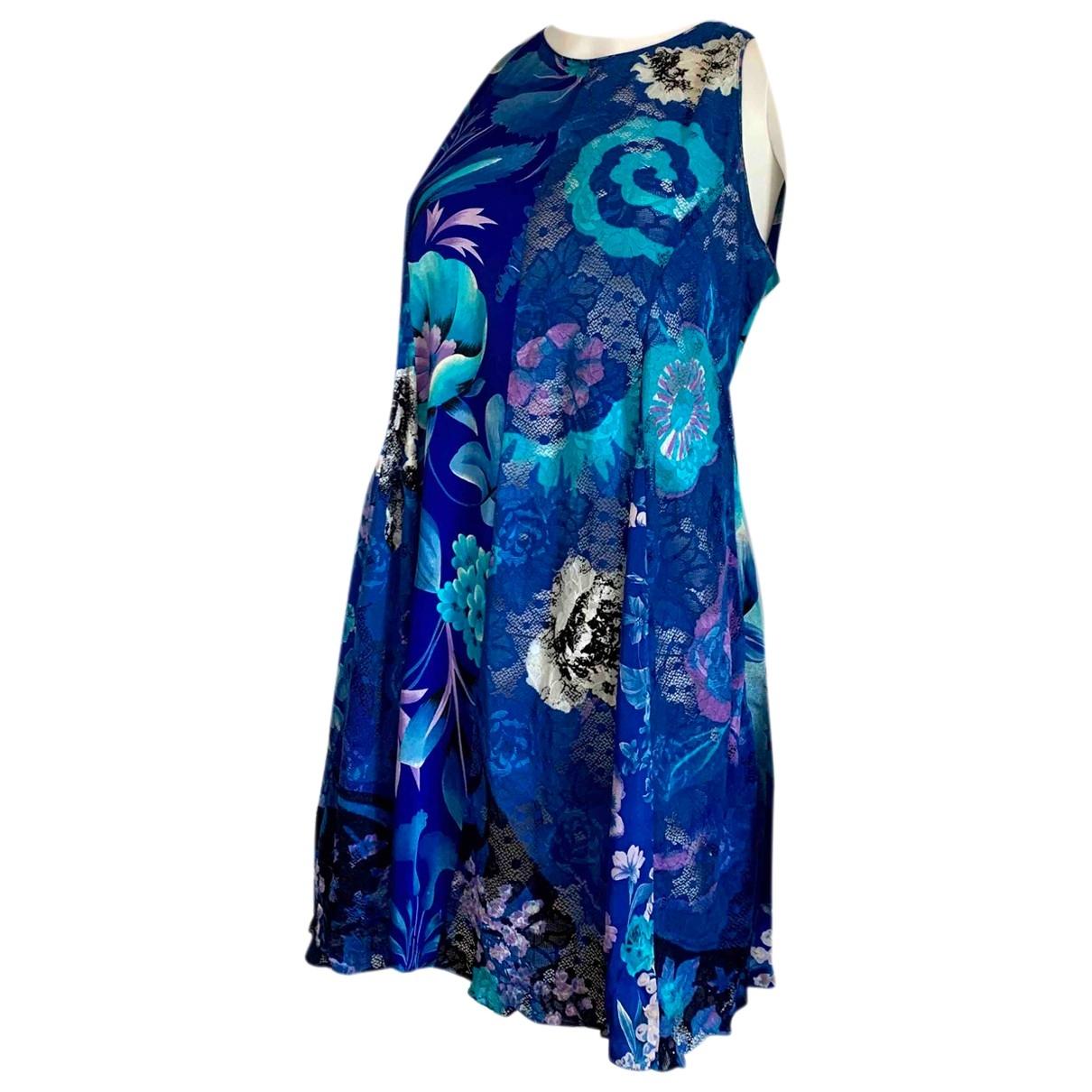 Istante \N Blue Silk dress for Women 42 IT