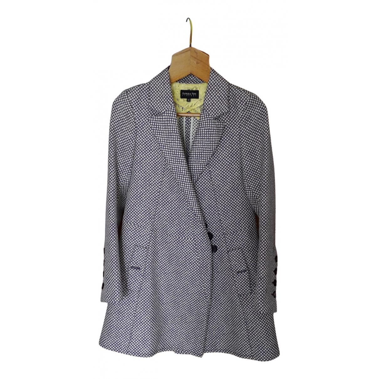 Patrizia Pepe - Manteau   pour femme en coton