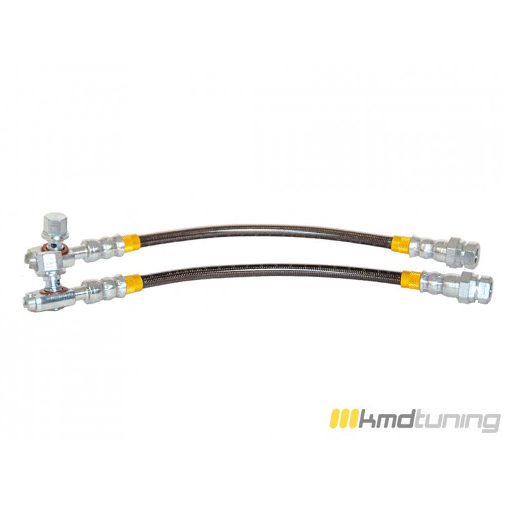 KMD Tuning 1K0611775D-SS Stainless Steel Brake Line Rear Kit Audi A3 FWD | Quattro | TDI 8P 05-20