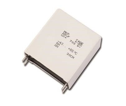 KEMET 7μF Polypropylene Capacitor PP 650V dc ±5% Tolerance C4AQ Series (96)