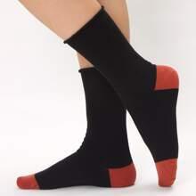 Two Tone Crew Socks