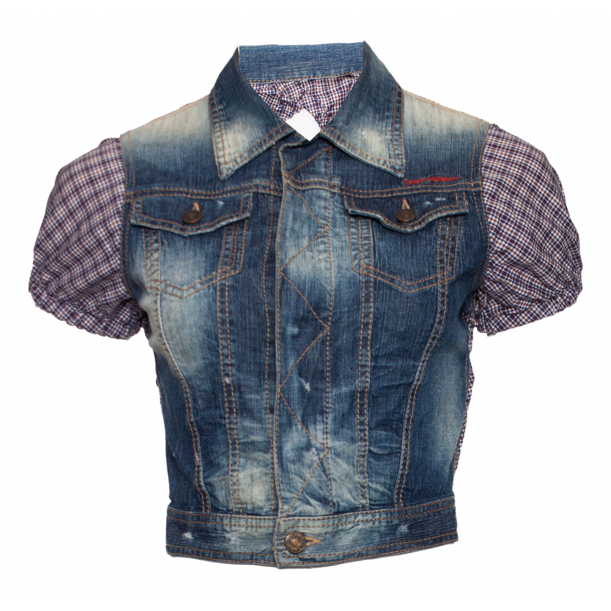 Dsquared2 - Veste   pour femme en coton - bleu