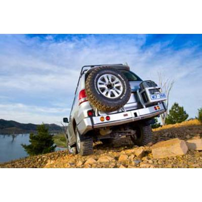 ARB Rear Left Wheel Carrier Option (Black) - 5700251