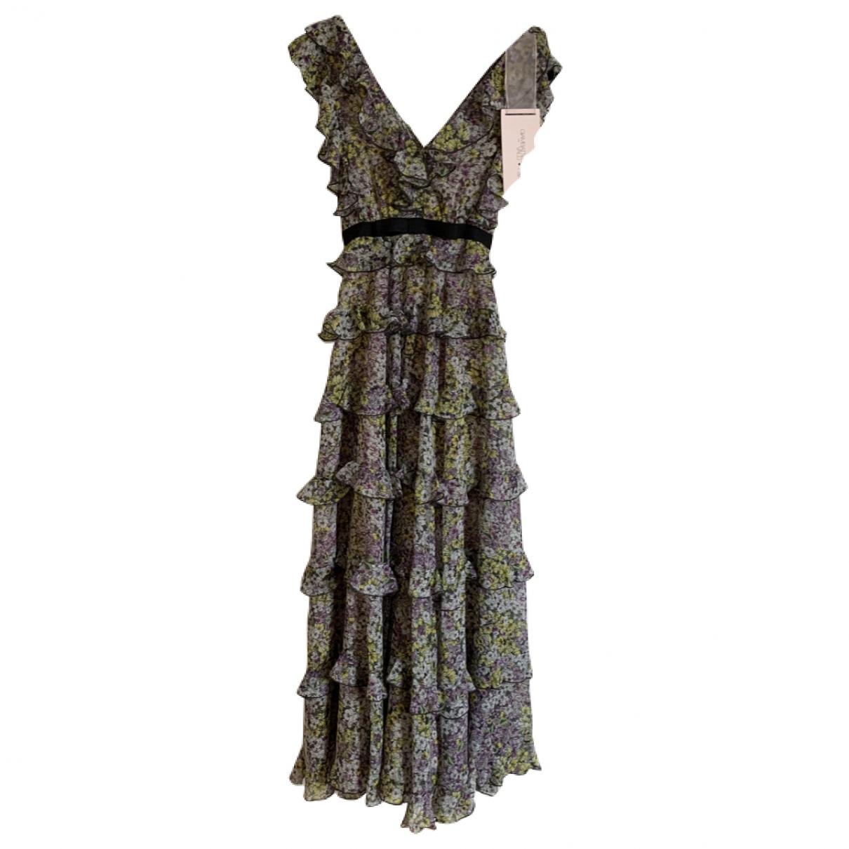 Giambattista Valli X H&m \N Multicolour Silk dress for Women 4 UK