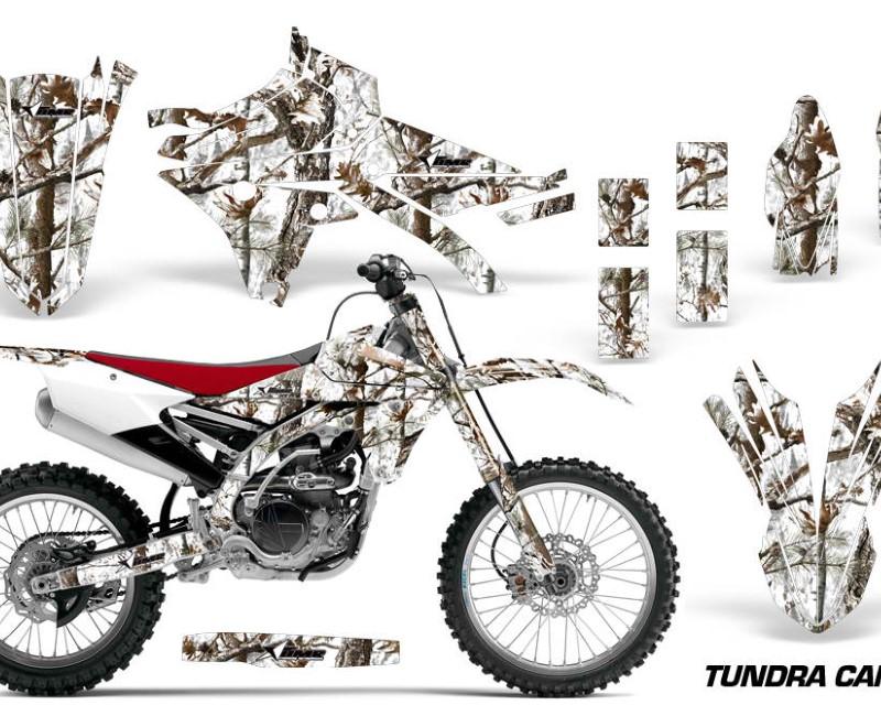 AMR Racing Dirt Bike Graphics Kit Decal Sticker Wrap For Yamaha YZ250F YZ450F 2014-2017áTUNDRA CAMO