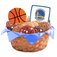 NBA Golden State Warriors Cookie Basket