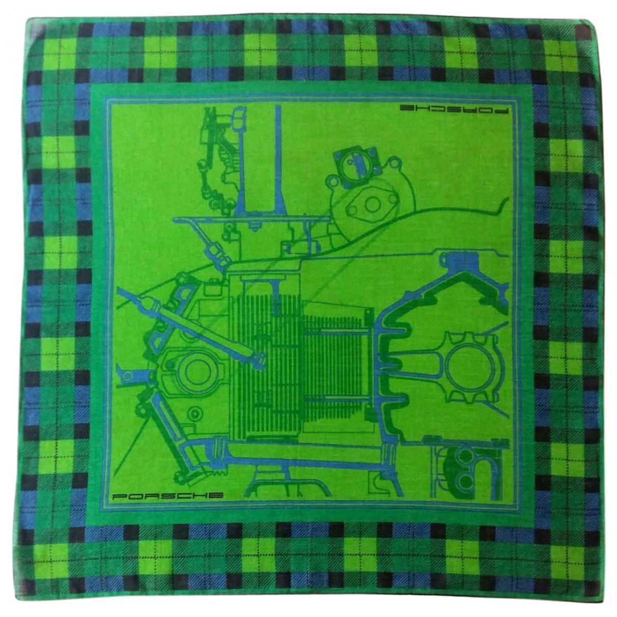 Porsche Design \N Green Cotton scarf for Women \N
