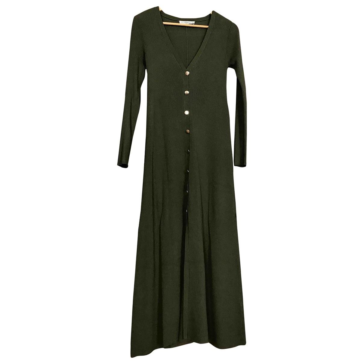 Zara - Robe   pour femme - kaki