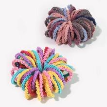 100pcs Toddler Girls Colorful Hair Tie