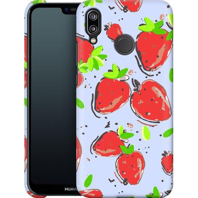 Huawei P20 Lite Smartphone Huelle - Strawberry Crush von Mukta Lata Barua