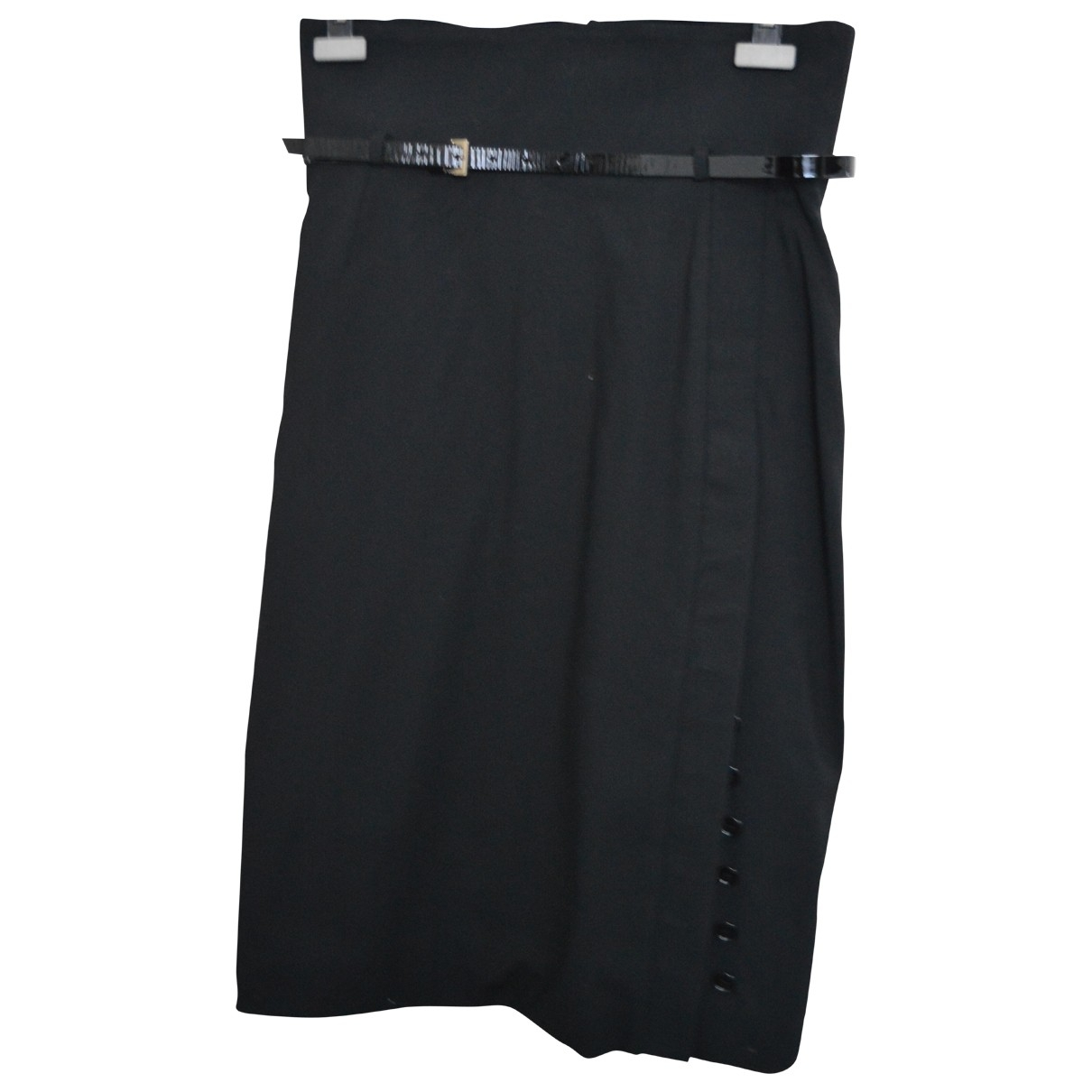 Dolce & Gabbana \N Black Wool skirt for Women 46 IT