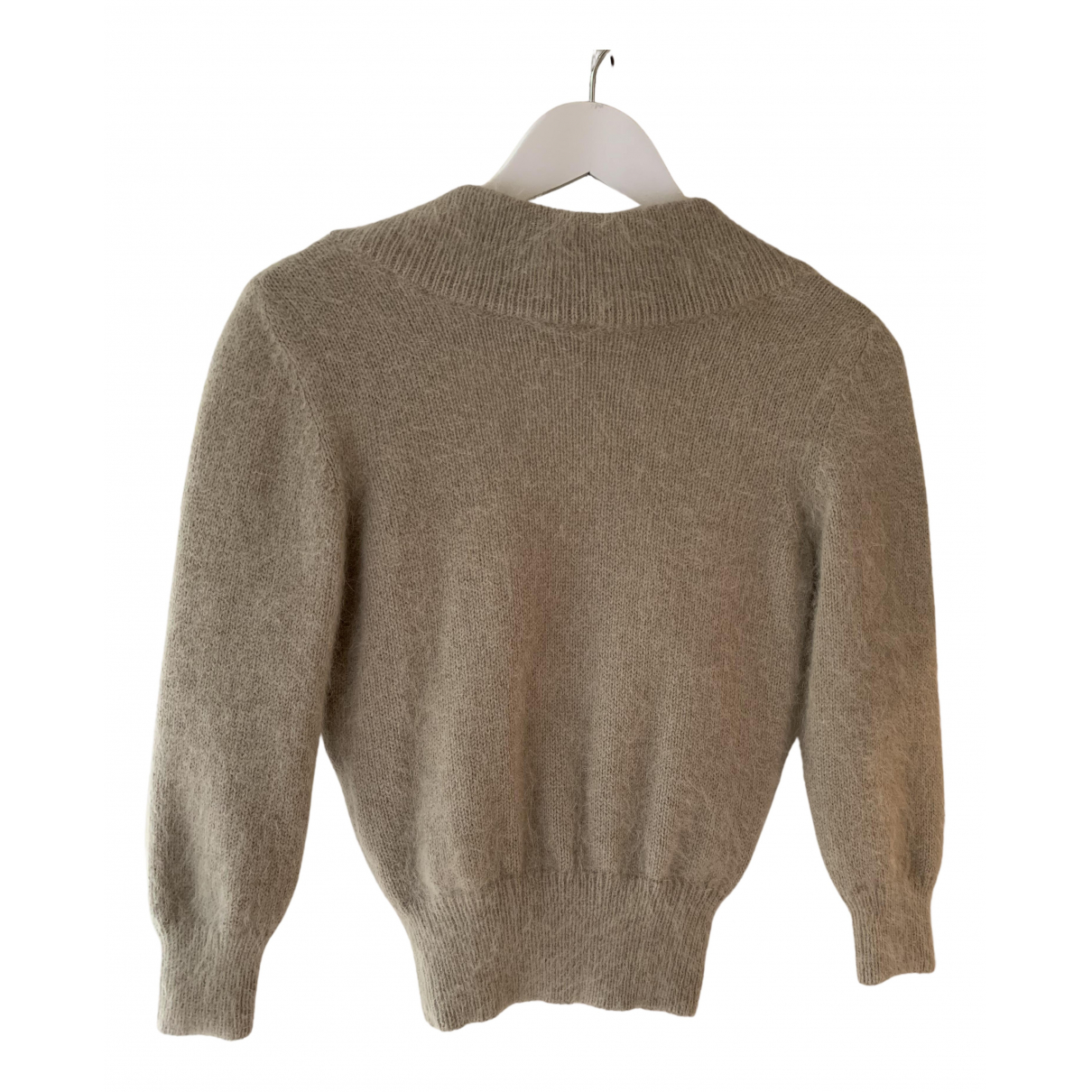 Alexander Mcqueen - Pull   pour femme en laine - beige