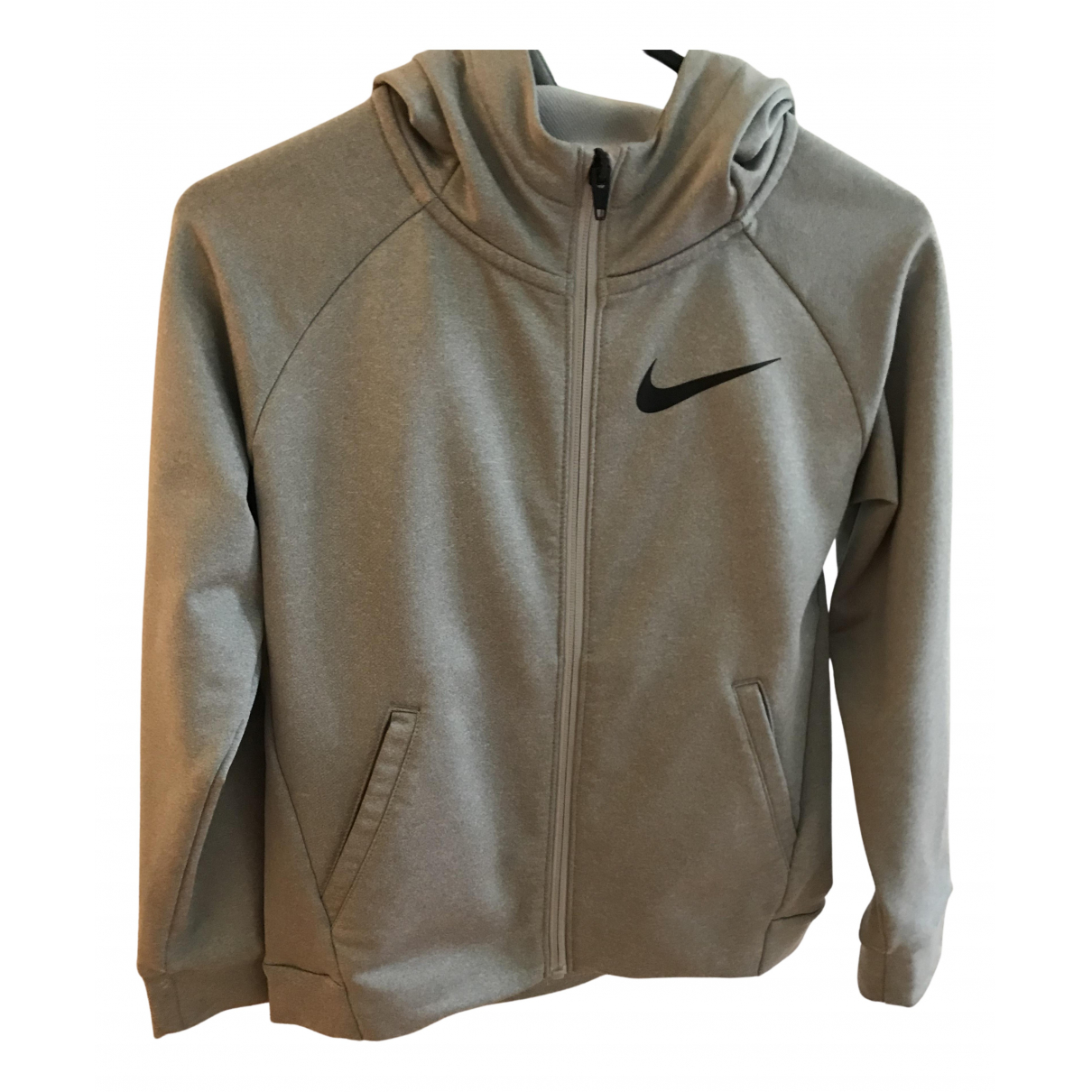 Nike N Grey Cotton Knitwear for Kids 6 years - up to 114cm FR