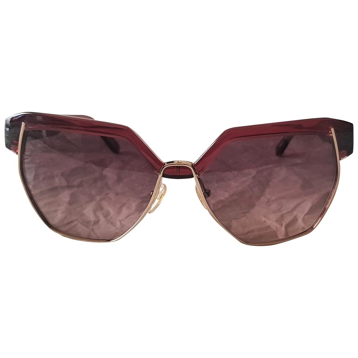 Chloé \N Burgundy Sunglasses for Women \N