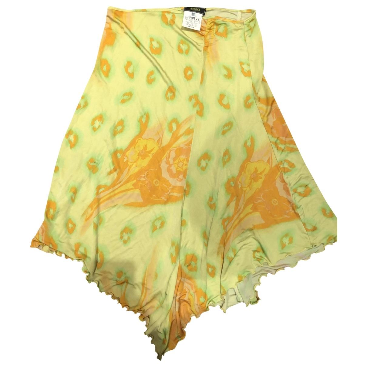 Versace Jean - Jupe   pour femme - jaune