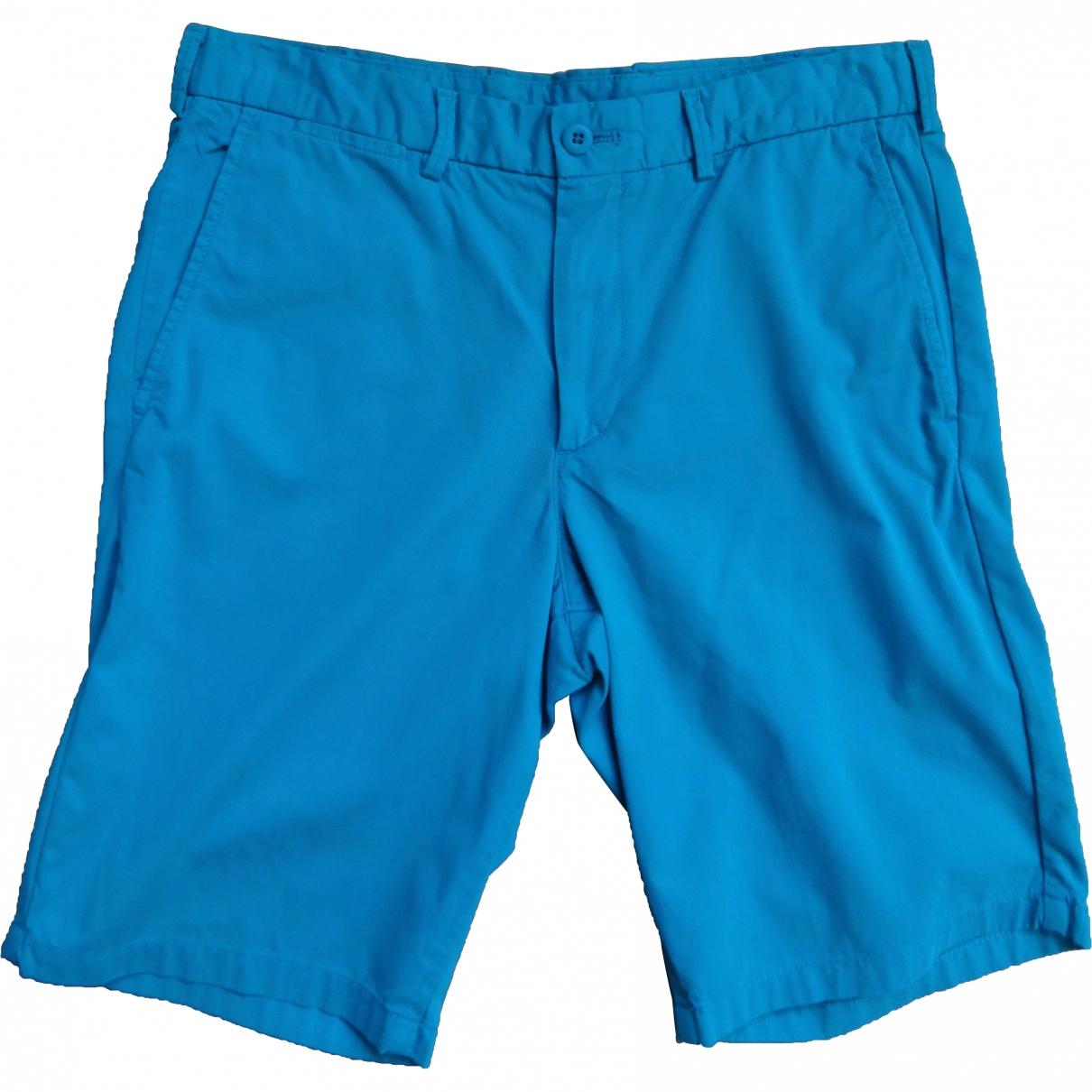 Uniqlo \N Turquoise Cotton Shorts for Men M International