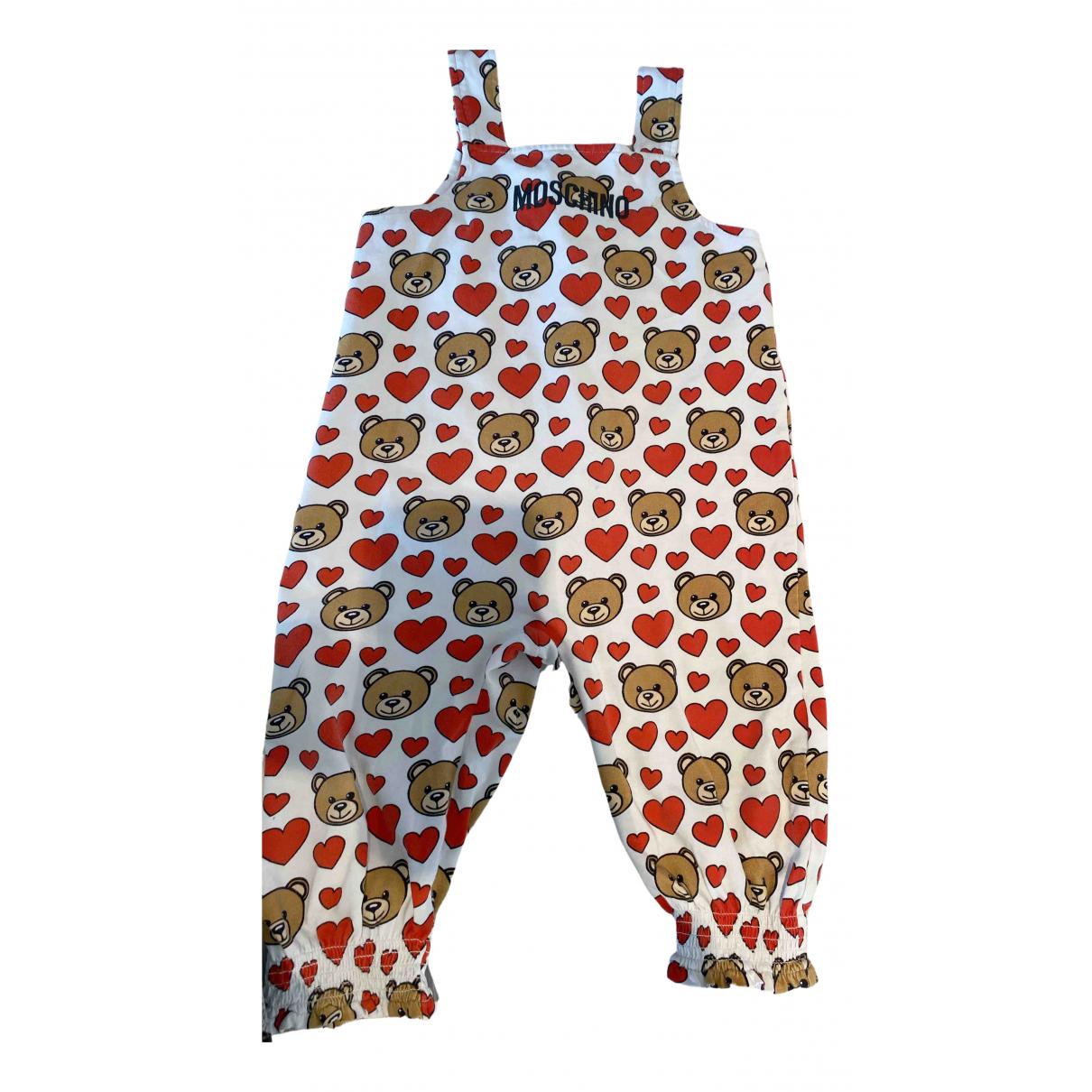 Moschino - Les ensembles   pour enfant en coton - rouge