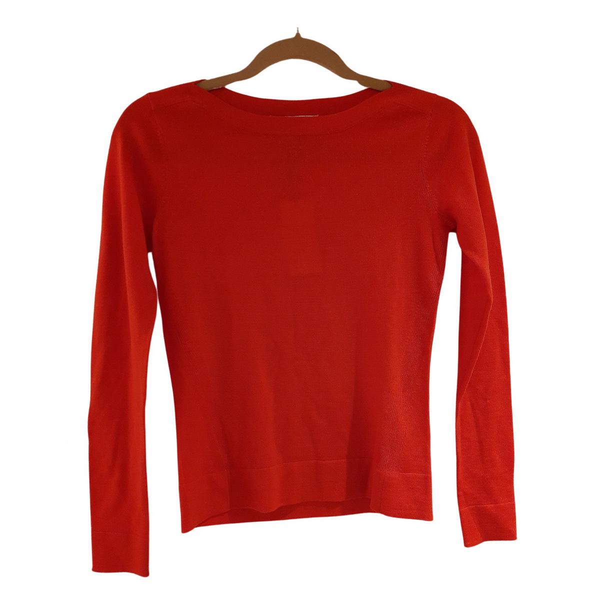 Lk Bennett N Red Wool Knitwear for Women 6 UK