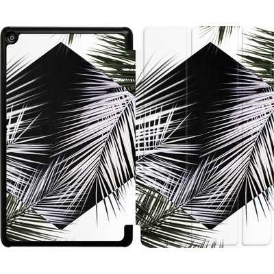Amazon Fire HD 8 (2018) Tablet Smart Case - Palm Leaves 3 Geometry 2 von Mareike Bohmer