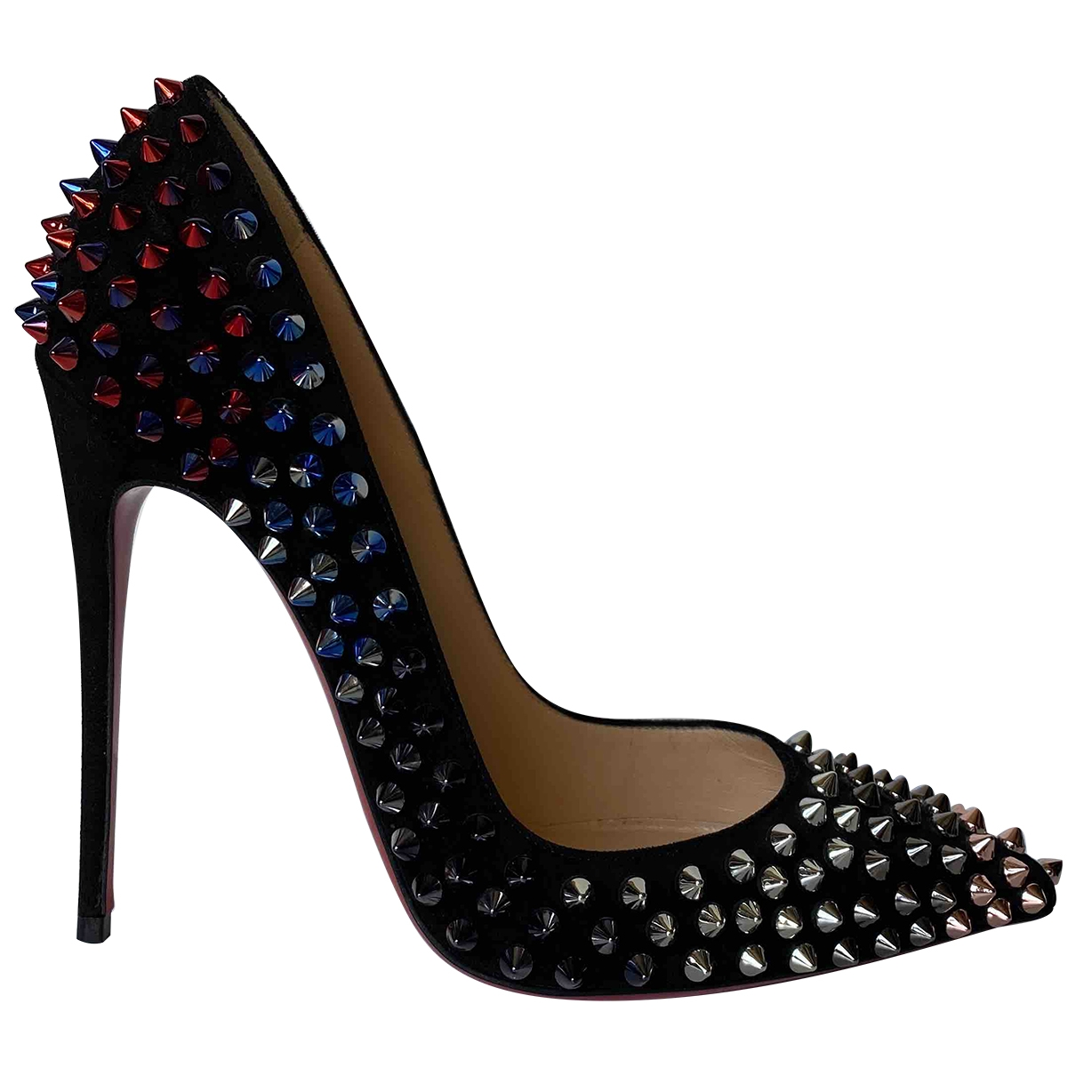 Christian Louboutin So Kate  Pumps in  Bunt Samt