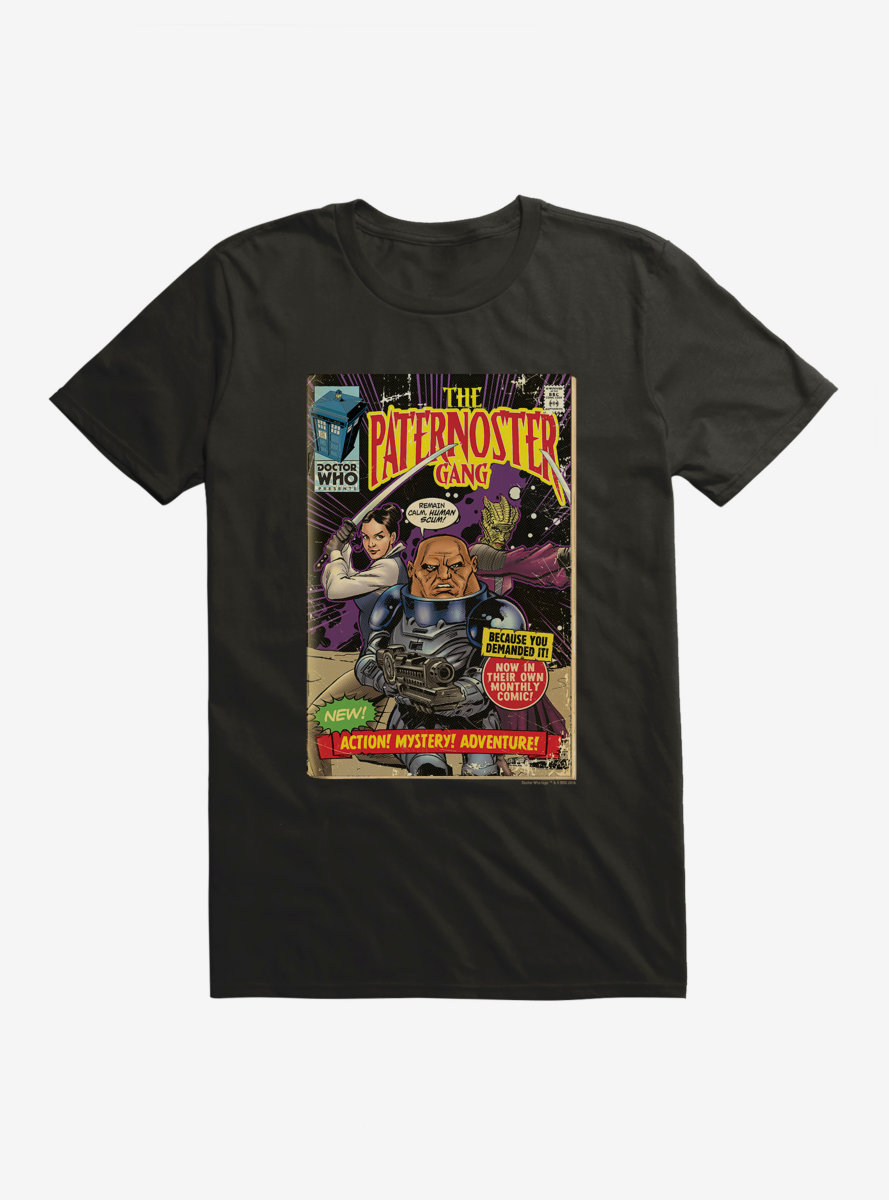 Doctor Who Paternoster Gang Comic T-Shirt