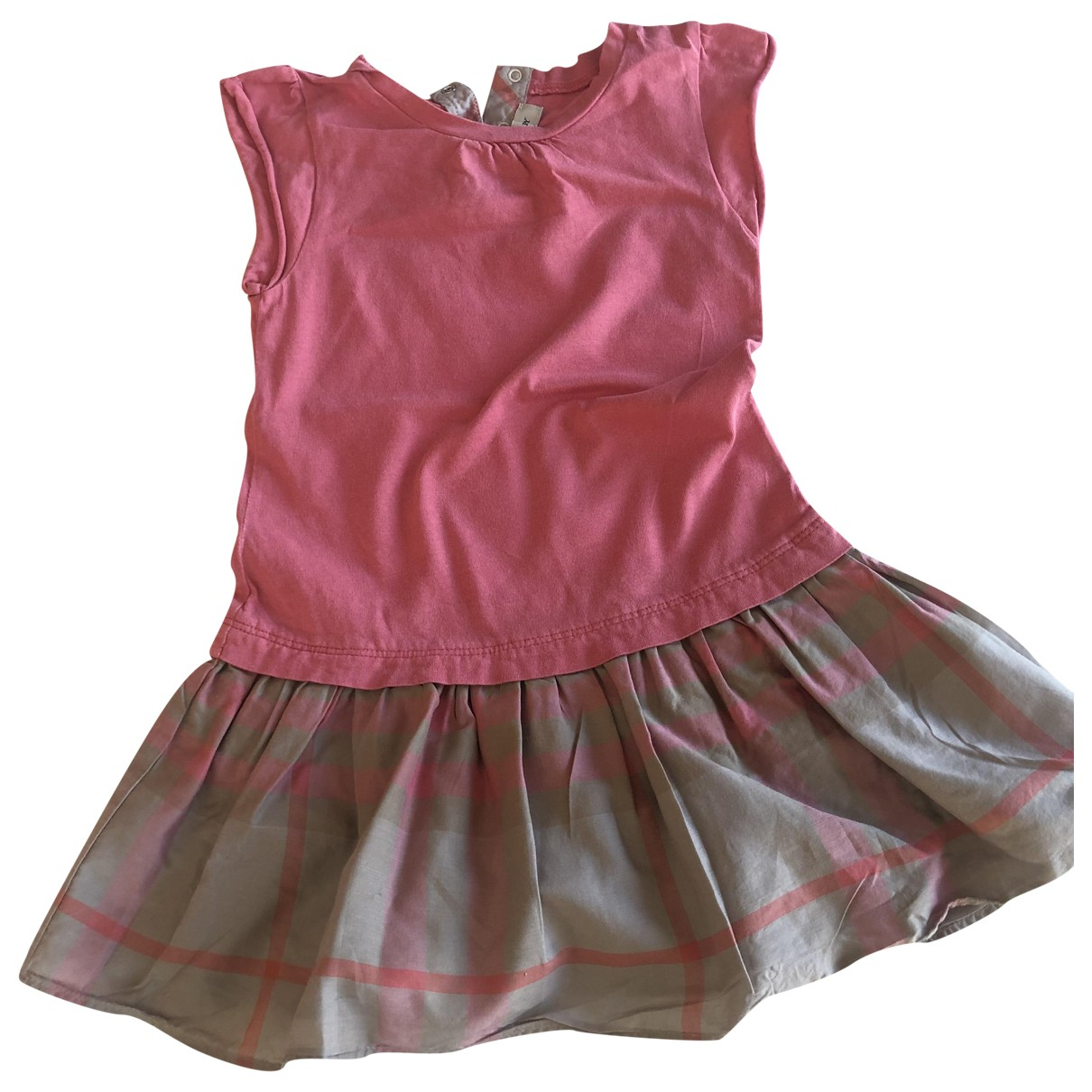 Burberry \N Pink Cotton dress for Kids 3 years - up to 98cm FR