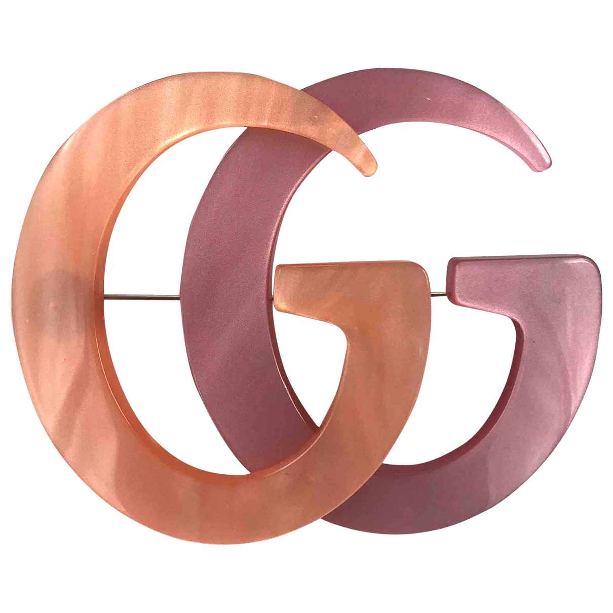 Gucci - Broche   pour femme - rose