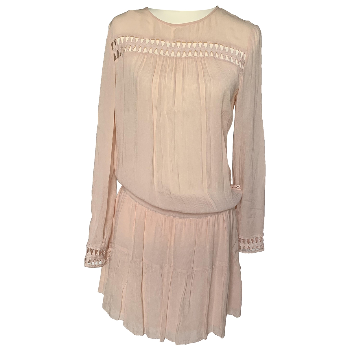 Ba&sh \N Kleid in  Rosa Viskose