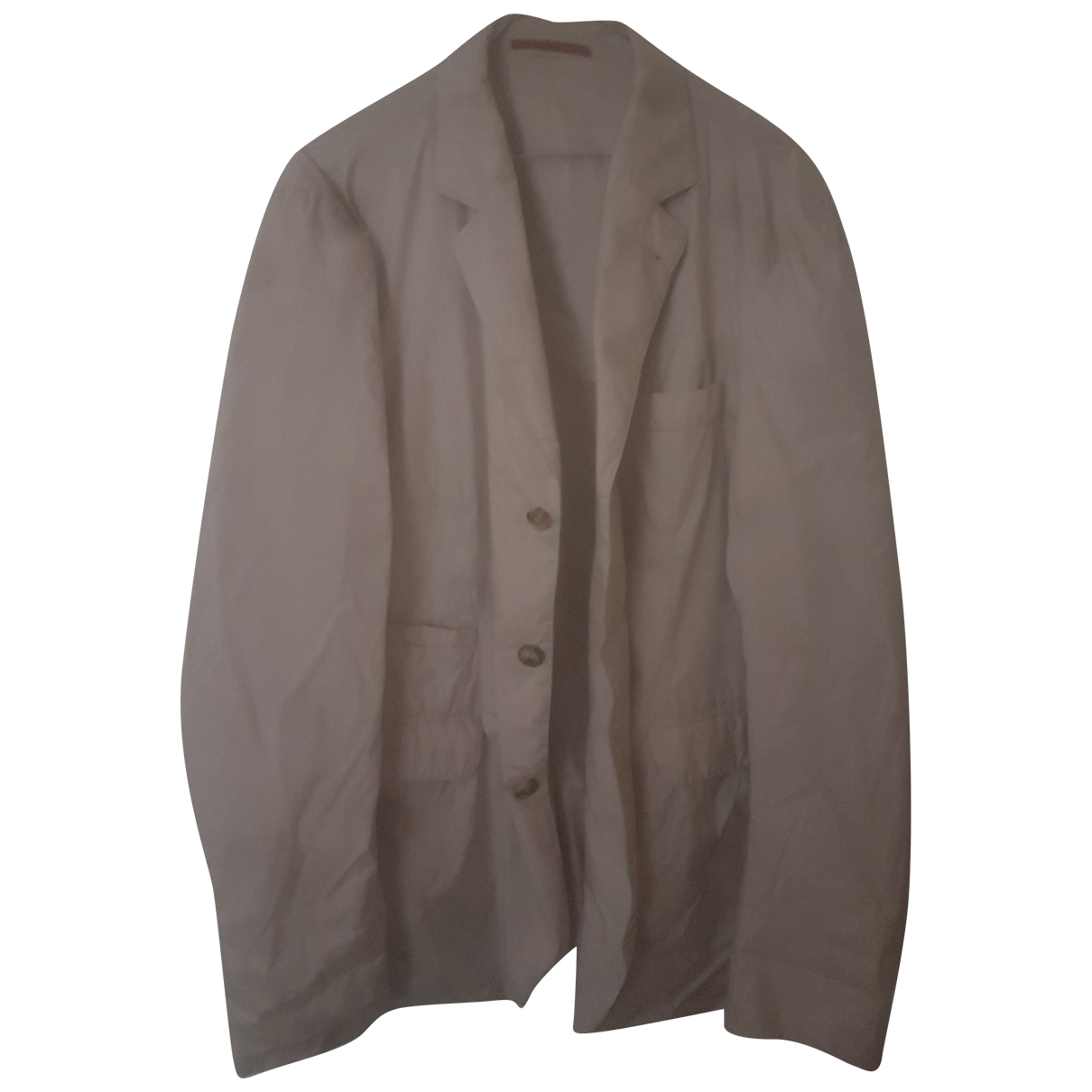 Brunello Cucinelli \N Beige jacket  for Men 50 IT