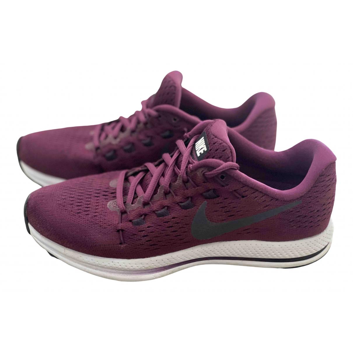 Nike Zoom Vomero Sneakers in  Bordeauxrot Leinen