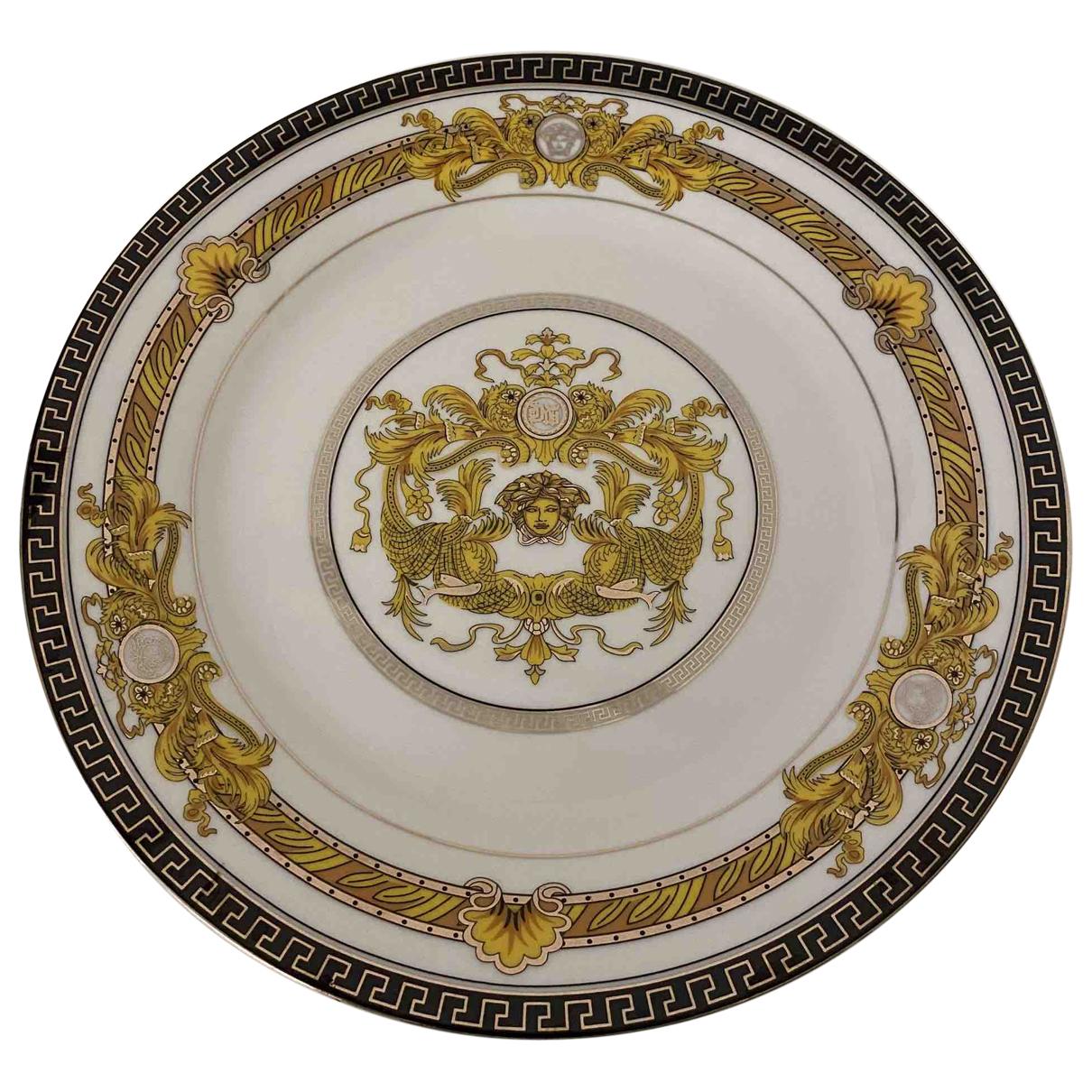 Versace - Arts de la table   pour lifestyle en ceramique - dore